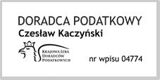 Doradca Podatkowy Czesław Kaczyński